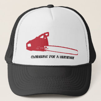 chainsaw, Chainsaw For A Hummer Trucker Hat