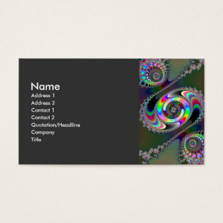 Chainsaw - Fractal Business Card
