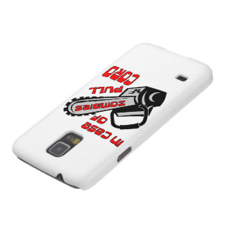 Chainsaw In Case Of Zombies Pull Cord Cases For Galaxy S5