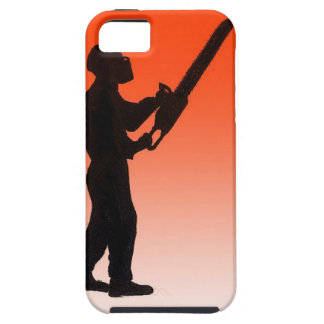 Chainsaw Tree Surgeon iPhone SE/5/5s Case
