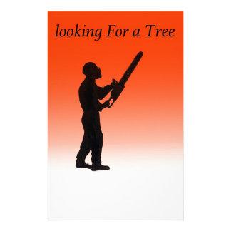 Chainsaw Tree Surgeon Stationery