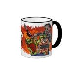 Chainsaw VS Zombie Cup Mug