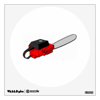 Chainsaw Wall Stickers