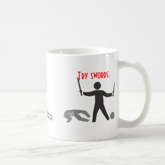 Chainsaws Run Out of Gas Coffee Mug