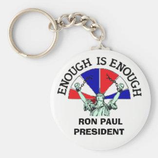 CHAINx,  RON PAUL PRESIDENT Basic Round Button Keychain