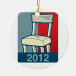 CHAIR 2012 CERAMIC ORNAMENT
