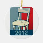 CHAIR 2012 CHRISTMAS ORNAMENT