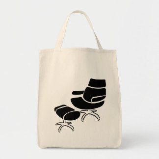 Chair and Footstool Set Canvas Bag