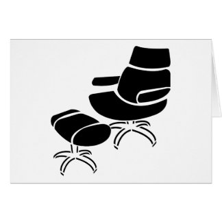 Chair and Footstool Set Card