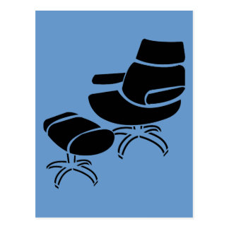 Chair and Footstool Set Post Cards