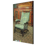 Chair by William Morris Canvas Print