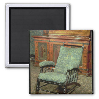 Chair by William Morris Refrigerator Magnet