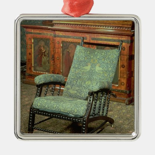 Chair by William Morris Metal Ornament