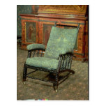 Chair by William Morris Postcard