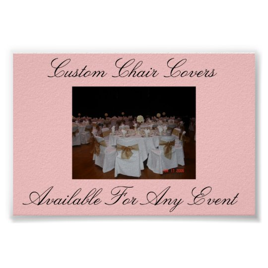 Chair Covers Poster