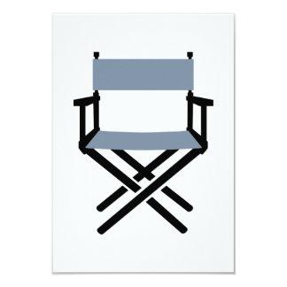 Chair Director 3.5x5 Paper Invitation Card