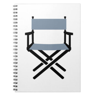 Chair Director Spiral Notebook