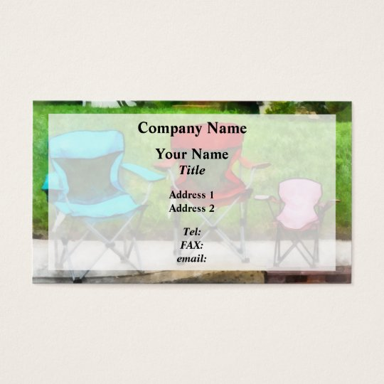 Chair Family Business Card