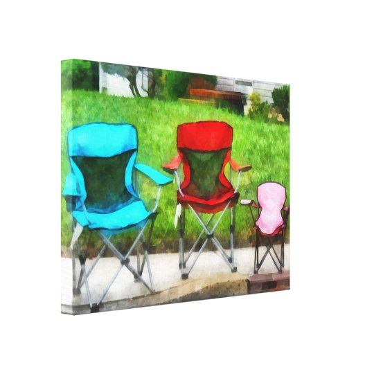 Chair Family Canvas Print