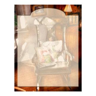 Chair - Grannies rocking chair Letterhead