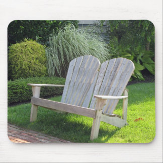 Chair in Ocean Grove NJ / Jersey Shore Mouse Pad