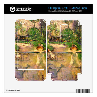 Chair in the garden by Berthe Morisot Skin For LG Optimus 2X