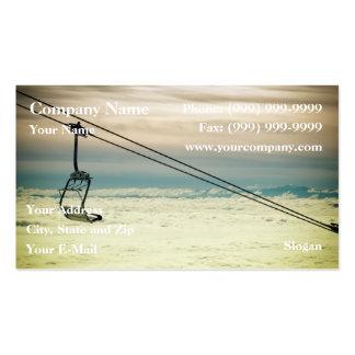 Chair lift business card templates
