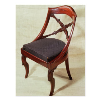 Chair, Louis-Philippe period Postcard