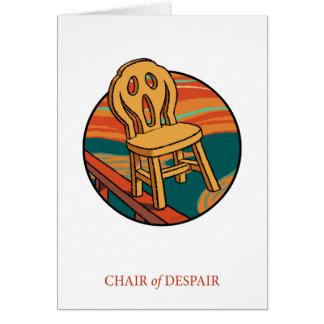 Chair of Despair Card