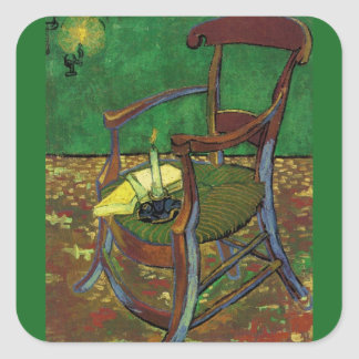 Chair of Gaugin Square Sticker