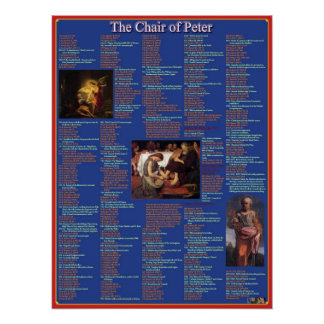 Chair of Peter Poster