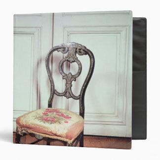 Chair, Second Empire Style Vinyl Binder