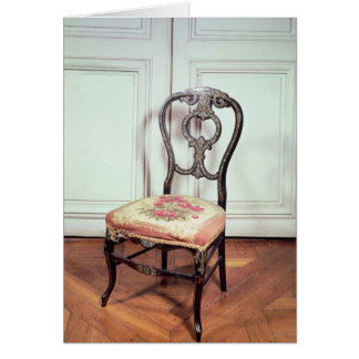 Chair, Second Empire Style Card