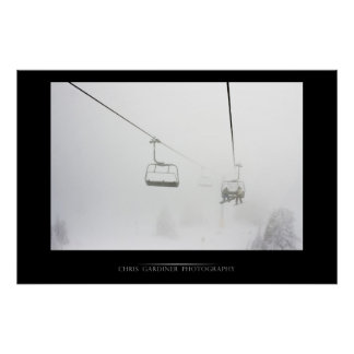 Chairlift Gallery Print