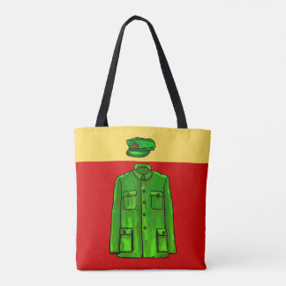 Chairman Mao Coat Watercolor Tote Bag