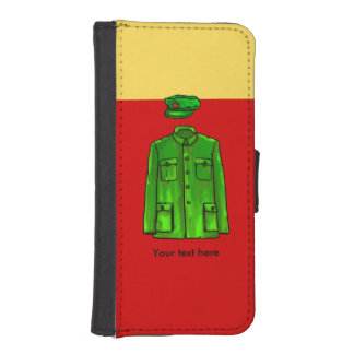 Chairman Mao Hat and Coat iPhone SE/5/5s Wallet