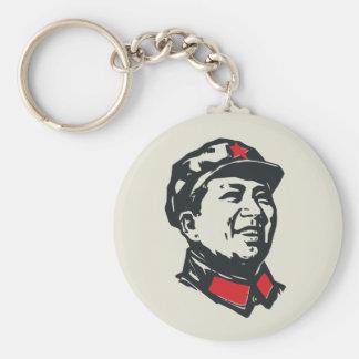 Chairman Mao Portrait Keychain