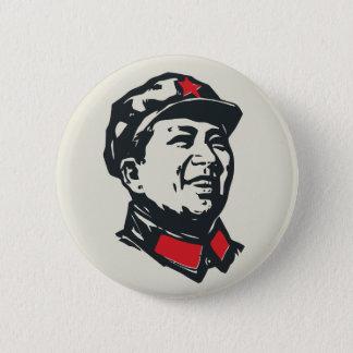 Chairman Mao Portrait Pinback Button
