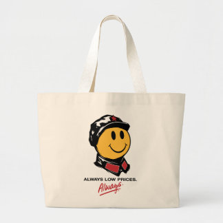 Chairman Mao Smiley Face - China:Always Low Prices Bags