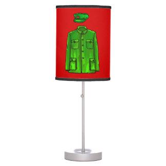 Chairman Mao Zhongshan suit Desk Lamp