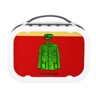 Chairman Mao Zhongshan suit Lunch Box