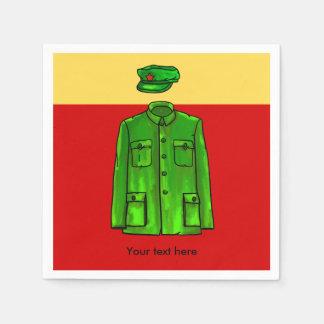Chairman Mao Zhongshan suit Paper Napkin