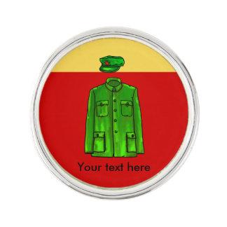 Chairman Mao Zhongshan suit Pin