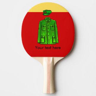 Chairman Mao Zhongshan suit Ping Pong Paddle