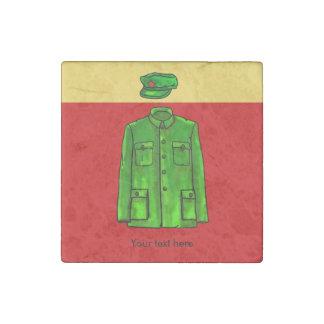 Chairman Mao Zhongshan suit Stone Magnet