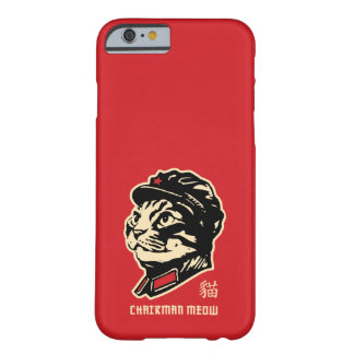 Chairman Meow Barely There iPhone 6 Case