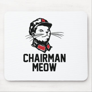 Chairman Meow (Mao) Design Mouse Pad
