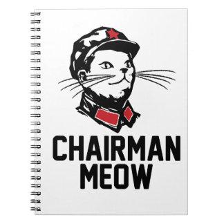 Chairman Meow (Mao) Design Notebook