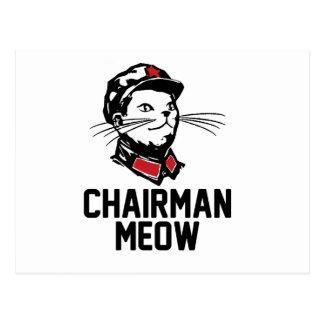 Chairman Meow (Mao) Design Postcards