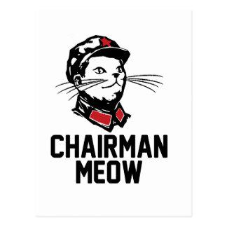 Chairman Meow (Mao) Design Post Cards